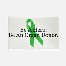 Bold Organ Donor Rectangle Magnet
