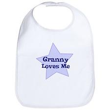 Granny Loves Me Bib