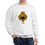 Big Nose Poodle Sweatshirt
