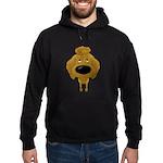 Big Nose Poodle Hoodie (dark)