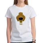 Big Nose Poodle Women's T-Shirt