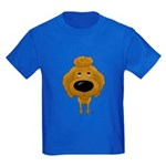Big Nose Poodle Kids Dark T-Shirt