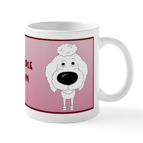Big Nose Poodle Mom Mug