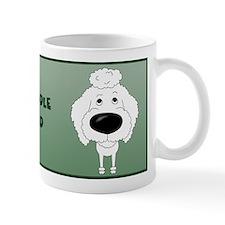 Big Nose Poodle Dad Small Mug
