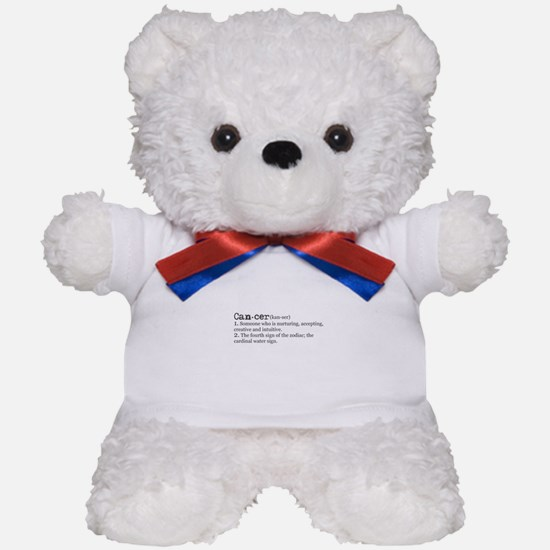 Cancer Definition Teddy Bear