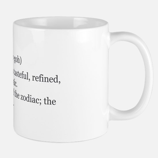 Virgo Definition Mug