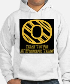 O 25 Wonderful Years Hoodie