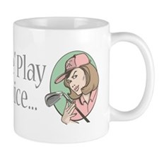 Fore Play Golfer chick Mug