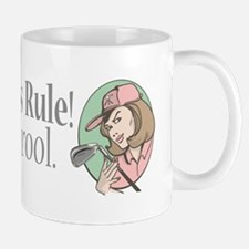 Golfer Chicks Rule Mug