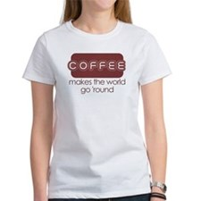 Coffee Makes The World Go 'Ro Tee