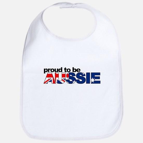 Proud to be Aussie Bib