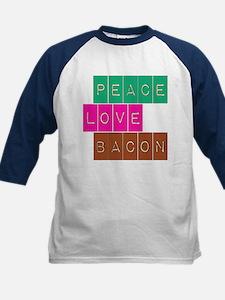 Peace Love and Bacon Tee