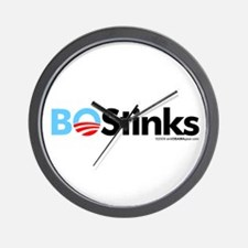 BO Stinks 1 Wall Clock