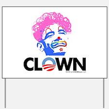 Clown 1 Yard Sign