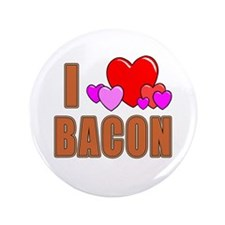 "I Love Bacon 3.5"" Button"