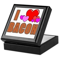 I Love Bacon Keepsake Box