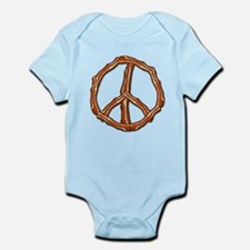 Bacon Peace Sign Infant Bodysuit