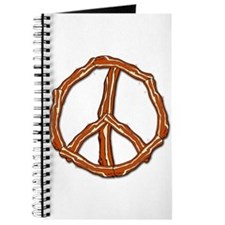 Bacon Peace Sign Journal