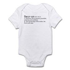 Taurus Definition Infant Bodysuit