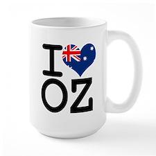 I Heart OZ Mug