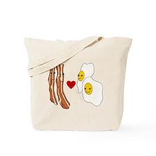 Bacon Loves Eggs Tote Bag