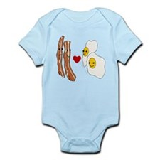 Bacon Loves Eggs Infant Bodysuit