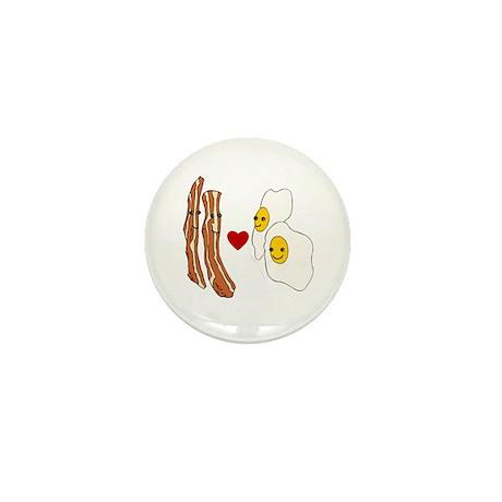 Bacon Loves Eggs Mini Button (100 pack)
