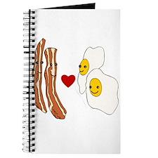 Bacon Loves Eggs Journal