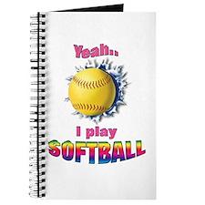 Yeah I play softball Journal