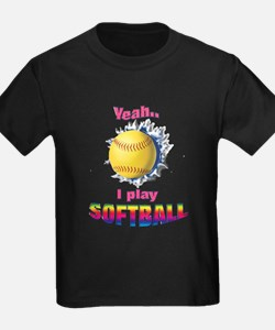 Yeah I play softball T