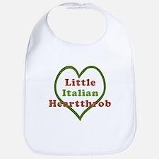 Little Italian Heartthrob Bib