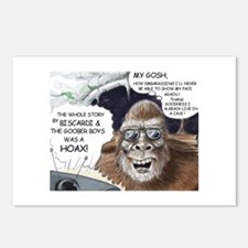 Postcards (Package of 8) Biscardi bigfoot hoax