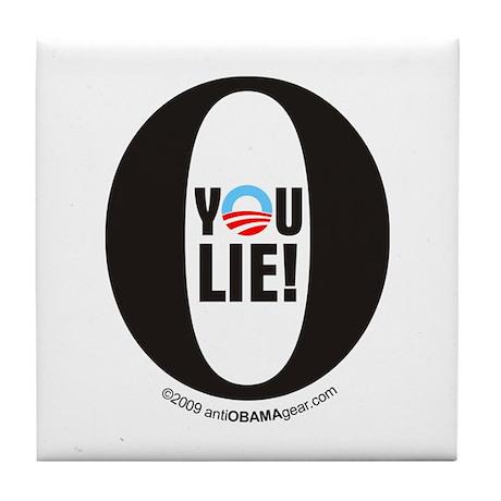 You Lie #1 Tile Coaster