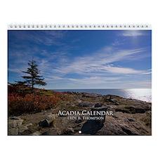 Acadia Wall Calendar