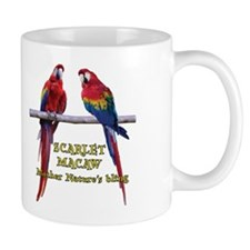 Macaw Bling Mug