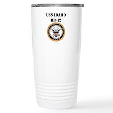 USS IDAHO Travel Mug