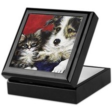Puppy & Kitten Keepsake Box