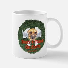 Dogs 4 Peace On Earth Mug