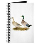 Ducks: Silver Welsh Harlequi Journal