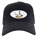 Ducks: Silver Welsh Harlequi Black Cap