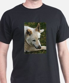 Big White GSD T-Shirt