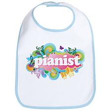 Retro Burst Piano Bib