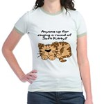 Singing a round of Soft Kitty Jr. Ringer T-Shirt