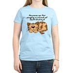 Singing a round of Soft Kitty Women's Light T-Shir
