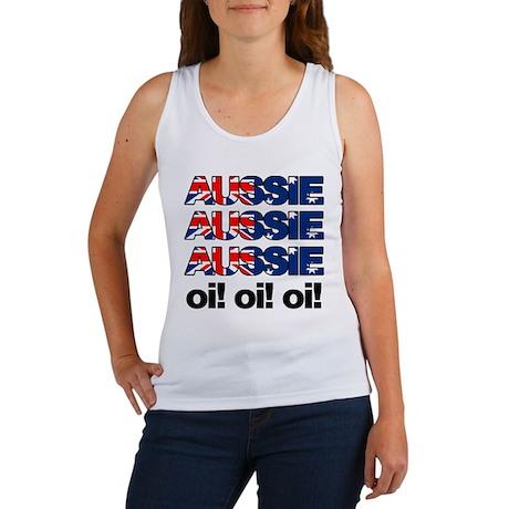 Aussie Aussie Aussie Oi! Oi! Women's Tank Top