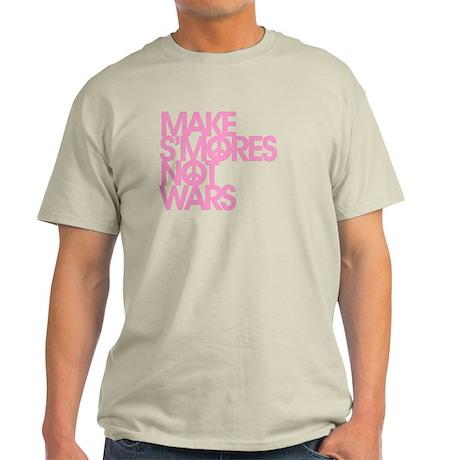 Make S'Mores Not Wars Light T-Shirt