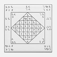 Unique Enochian Tile Coaster