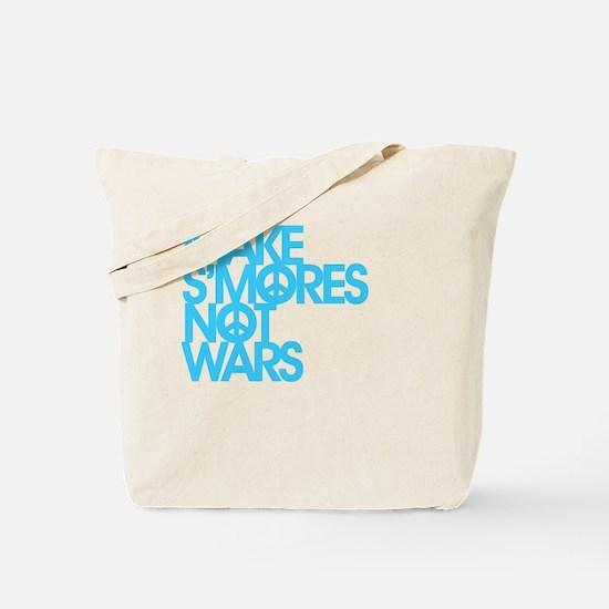 Make S'Mores Not Wars Tote Bag