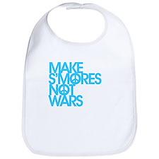 Make S'Mores Not Wars Bib
