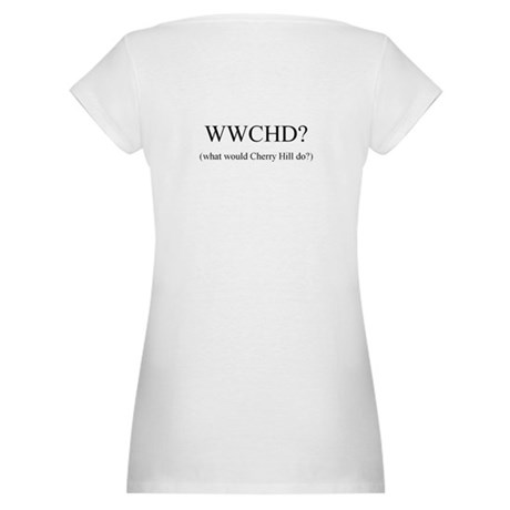 What Would Cherry Hill DO?Maternity T-Shirt